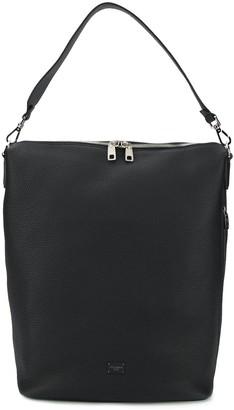 Dolce & Gabbana Logo Patch Shoulder Bag