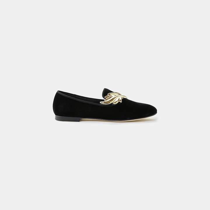 Giuseppe Zanotti Cruel Velvet Loafer