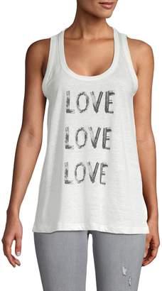 Zadig & Voltaire Love Linen Tank Top