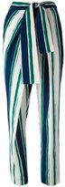 Chloé striped sarong trousers