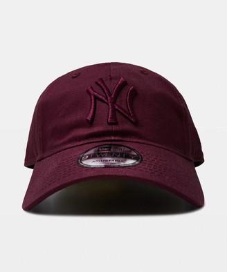 New Era 9Twenty NY Yankees Cap Maroon