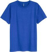 H&M Cotton T-shirt - Dark blue - Men
