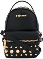 Baldinini small studded bag - women - Silk/Leather/metal - One Size