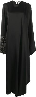Stella McCartney Aliyah crystal-cuff maxi-dress