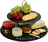 Picnic at Ascot Serat 2-Layer Slate Cheese Board