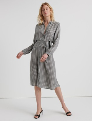 Blair Stripe Midi Dress