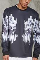 21men 21 MEN Greek Statue Graphic Pullover