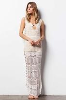 Tularosa Festival Dress in White
