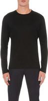 Canali Crewneck cotton-jersey top