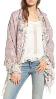 Hinge Women's Feathering Floral Scarf