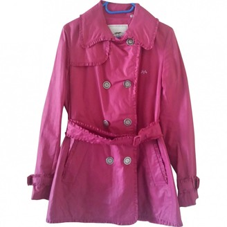 Burberry Pink Linen Trench coats