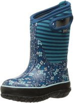 Bogs Classic Flower Stripe Winter Snow Boot (Toddler/Little Kid/Big Kid)