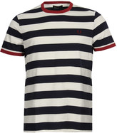 Fred Perry T-Shirt Ringer M1534 Carbon Blue