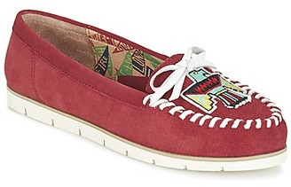 Miss L Fire Miss L'Fire YHUNDERBIRD women's Loafers / Casual Shoes in Red