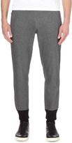 Emporio Armani Contrast-detail cotton-blend jogging bottoms