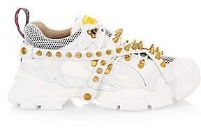 Gucci Men's Flashtrek Spike High-Tech Sneakers