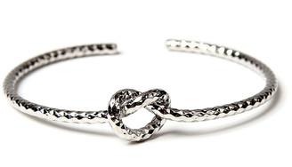 Amrita Singh Women's Bracelets Silver - Silvertone Knot Cuff