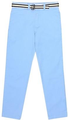 Polo Ralph Lauren Stretch-cotton skinny pants