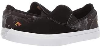 Emerica Wino G6 Slip-On X Psockadelic (Black) Men's Skate Shoes