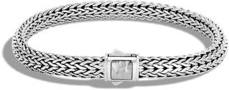 John Hardy Classic Chain Hammered Silver Bracelet
