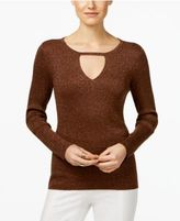 INC International Concepts Keyhole Sweater, Only at Macy's
