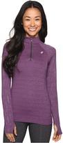 Asics Lite-Show 1/2 Zip Top Women's Long Sleeve Pullover