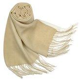 Ombre Fringed Wool-Cashmere Pashmina Shawl