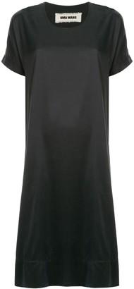 UMA WANG short-sleeve midi dress