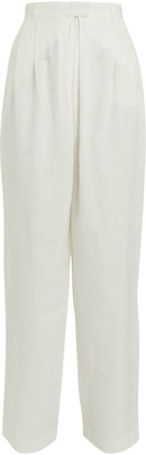 Mara Hoffman Eldora Pleated Wide-Leg Pants
