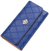 Happy Hours - Luxury Women's and Lady's Clutch Wallet / Fashion Luxury Long Purse Eco PU Leather Card Holder Handbag Bags for Travel Party Prom Shopping Dating
