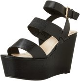 Aldo Women's Karika Two Piece Covered Wedge Sandal