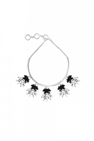 Forest of Chintz Black Blanc Necklace