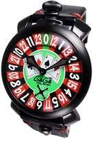 GaGa MILANO Men's Las Vegas Roulette 48mm Mechanical Watch 5012.lv.01s