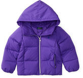 Ralph Lauren Girls 2-6x Quilted Hooded Jacket