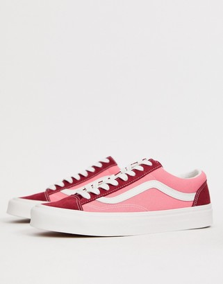 Vans Style 36 color block sneakers in multi