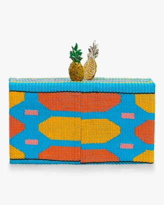 Edie Parker Pineapple Topper Jean Box