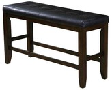 ACME Furniture Urbana Counter Height Bench Wood/Espresso/Black - Acme
