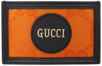 Gucci Orange Off The Grid GG Card Holder