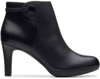 Clarks Collection Adriel Mae Heeled Bootie