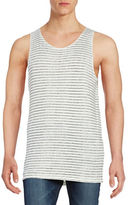 Selected Striped Cotton Tank