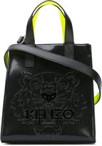 Kenzo neon panel tote - women - PVC - One Size