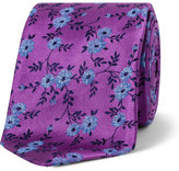 Duchamp Circa Floral Tie
