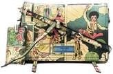 Prada Etiquette cartoon print shoulder bag