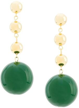 Eshvi Ball Drop Earrings