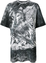 Balmain wolf and storm T-shirt