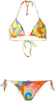 Missoni abstract print bikini set - women - Polyamide/Spandex/Elastane - 42