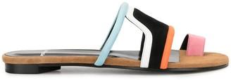 Pierre Hardy Wave flat sandals