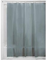 InterDesign PVC-Free PEVA 3-Gauge Shower Curtain Liner, 183 x 183 cm - Smoke