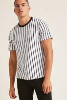 Forever 21 Contrast Stripe Tee
