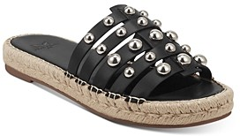 Marc Fisher Women's Tamie Embellished Flat Sandals